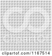 Clipart Of A 3d Computer Keyboard Button Background Royalty Free Vector Illustration