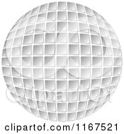 Clipart Of A Computer Keyboard Button Globe Royalty Free Vector Illustration