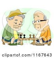 Retired Men Playing Chess