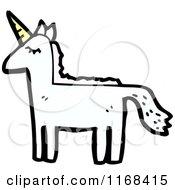Cartoon Of A Unicorn Royalty Free Vector Illustration