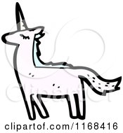 Cartoon Of A Unicorn Royalty Free Vector Illustration by lineartestpilot #COLLC1168416-0180