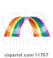 Colorful Rainbow Arch