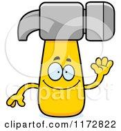 Waving Hammer Mascot