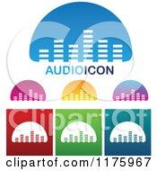 Audio Equalizer Bar Designs