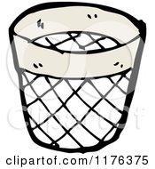 Cartoon Of A Trash Can Royalty Free Vector Illustration