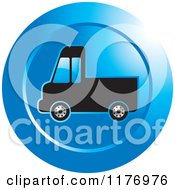 Clipart Of A Delivery Truck Royalty Free Vector Illustration