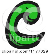 Cartoon Of The Letter C Royalty Free Vector Illustration