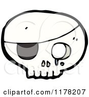 Skull With An Eyepatch