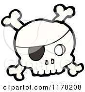 Skull And Crossbones With An Eyepatch