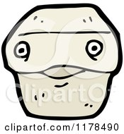 Cartoon Of A Box Royalty Free Vector Illustration by lineartestpilot