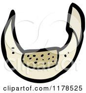 Cartoon Of Bandage Royalty Free Vector Illustration