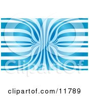 Abstract Blue And White Background by AtStockIllustration