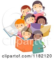 Royalty-Free (RF) Reading Club Clipart, Illustrations, Vector ...