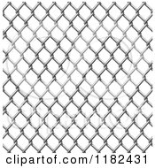 Clipart Of A Seamless Chain Link Fence Pattern Royalty Free Vector Illustration