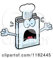 Scared Cook Book Mascot