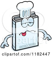 Cartoon Of A Sick Cook Book Mascot Royalty Free Vector Clipart