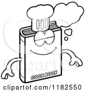 Black And White Dreaming Cook Book Mascot