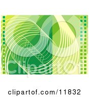 Abstract Green Technology Background by AtStockIllustration