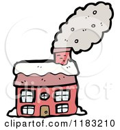 Cartoon Of A House Royalty Free Vector Illustration