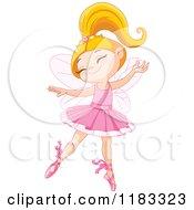 Happy Fairy Ballerina Dancing