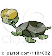 Surprised Sea Turtle