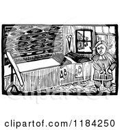 Retro Vintage Black And White John Gilpin