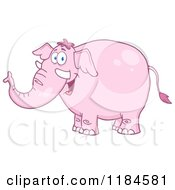 Happy Pink Elephant