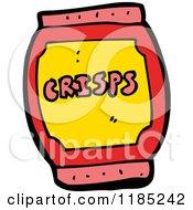 Cartoon Of A Snack Barrel Royalty Free Vector Illustration