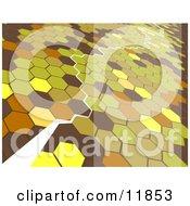 Path Through Octagons by AtStockIllustration