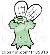 Cartoon Of A Fairy Costume Royalty Free Vector Illustration by lineartestpilot