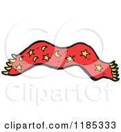 Cartoon Of A Magic Carpet Royalty Free Vector Illustration by lineartestpilot