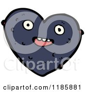 Cartoon Of Valentine Heart With An Allergic Reaction Royalty Free Vector Illustration by lineartestpilot