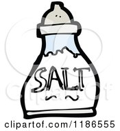 Cartoon Of A Salt Shaker Royalty Free Vector Illustration by lineartestpilot