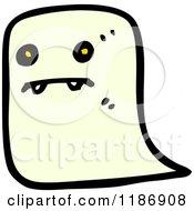 Cartoon Of A Vampire Ghost Royalty Free Vector Illustration