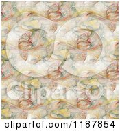 Clipart Of An Earth Toned Fractal Pattern Background 2 Royalty Free CGI Illustration