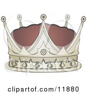 Kings Crown Clipart Illustration