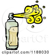 Cartoon Of A Spraypaint Can Royalty Free Vector Illustration by lineartestpilot