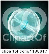 Clipart Of A 3d Dividing Cell Royalty Free CGI Illustration by Mopic