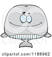 Cartoon Of A Happy Whale Mascot Royalty Free Vector Clipart