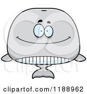 Happy Whale Mascot