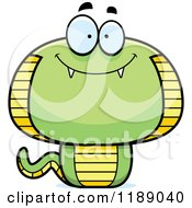Cartoon Of A Happy Cobra Snake Mascot Royalty Free Vector Clipart by Cory Thoman
