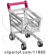 Shopping Cart Clipart Illustration