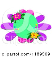 Purple Flower With Pink And Purple Petals