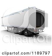 3d Open Hgv Freight Trailer
