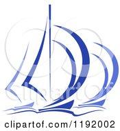 Blue Regatta Sailboats 5