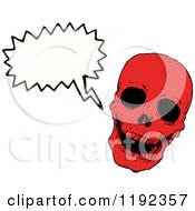 Poster, Art Print Of Red Skull Speaking