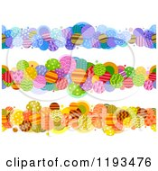 Cartoon Of Patterned Circle Borders Royalty Free Vector Clipart by BNP Design Studio