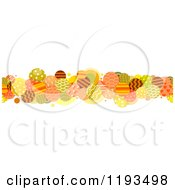 Cartoon Of A Retro Patterned Circle Border Royalty Free Vector Clipart by BNP Design Studio