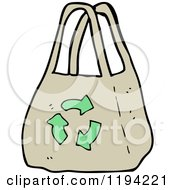 Cartoon Of A Recycle Royalty Free Vector Illustration by lineartestpilot