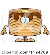 Happy Pancakes Mascot